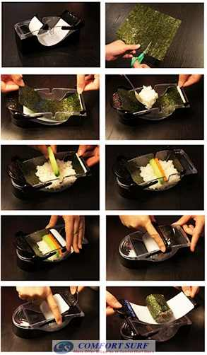 Perfect Magic Roll Sushi Maker