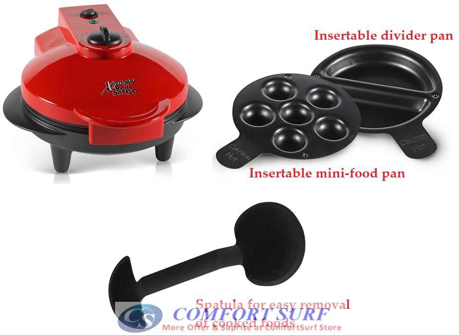 Multipurpose Xpress Redi Set Go With Insertable Pan Amp Spatula