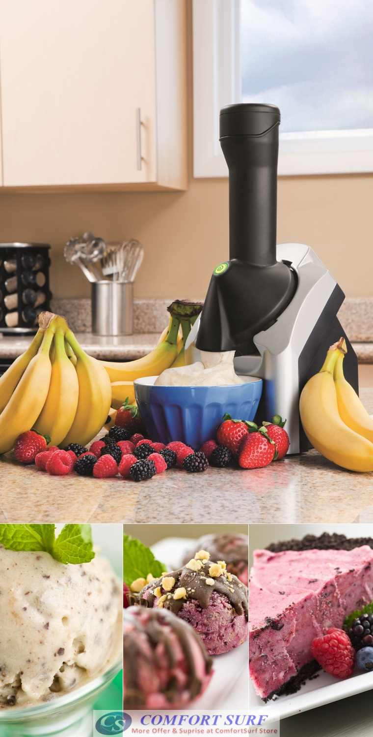 Frozen Fruit, Ice Cream Dessert Maker Machine