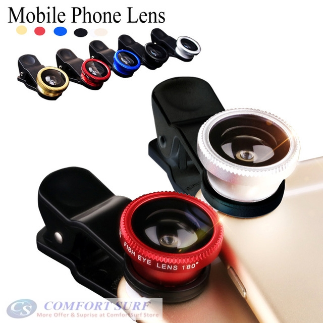 Portable Clip-on Universal Lens for Mobile Phone & Camera