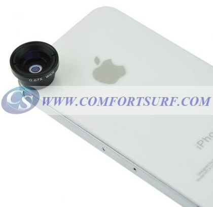 Wide/Macro Lens-Magnet Mount Conversion Lens for Mobile Phone & Digital Cameras
