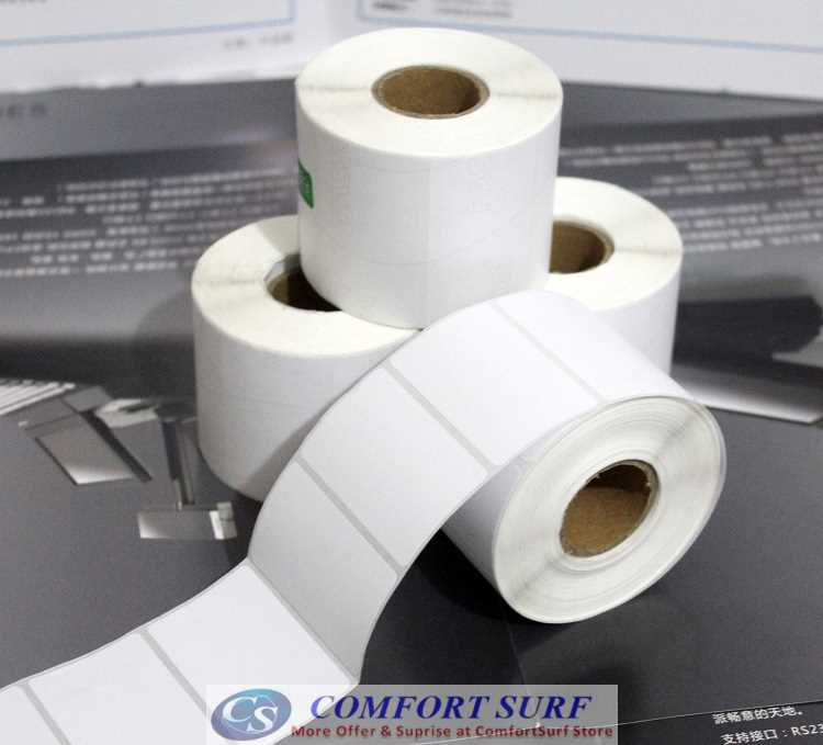 All Size Barcode Label Thermal Paper for barcode / label thermal printing