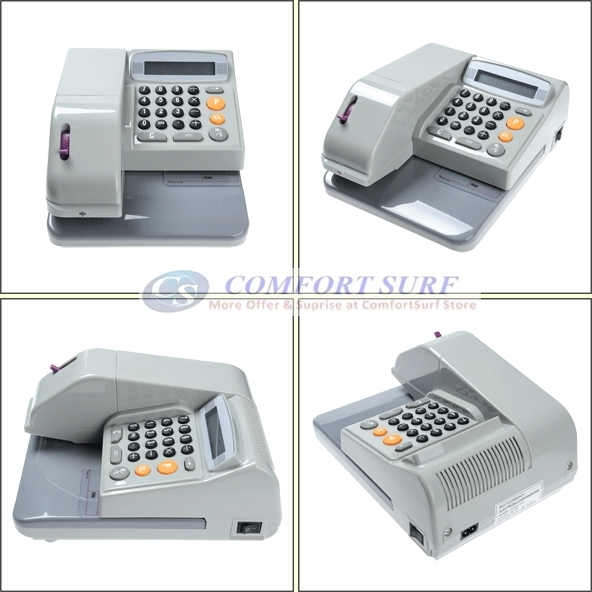 Multi Currency Cheque Writer MCEC-310 CheckWriter Cheque Printer