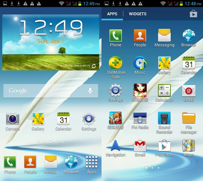 Haipai GT-N7102 12.0 Mpixel 5.5