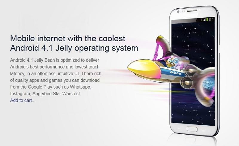 Star S1 1GB MTK6577 Cortex A9 Dual Core Andoid 4.1 Jeallybean Smartphone