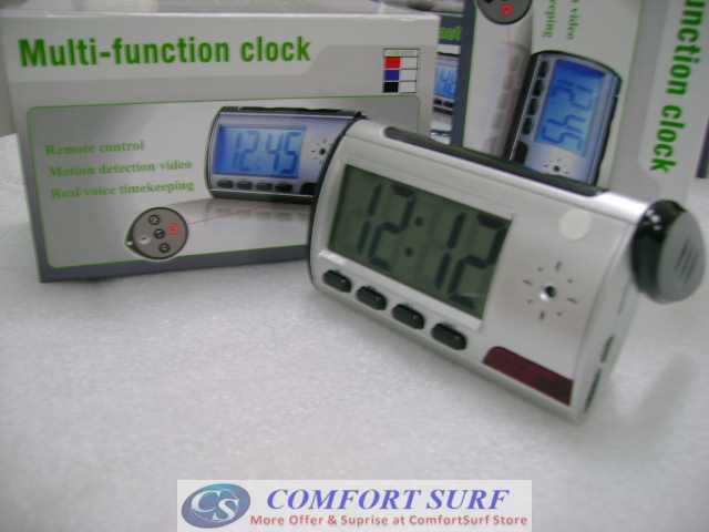 Spy Table Alarm Clock