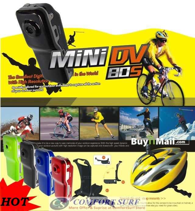 Mini DV MD80 Spy Pen Video Camcoder DVR