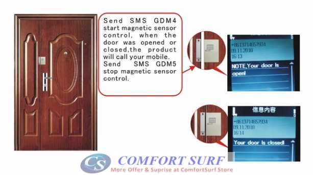GSM Spy Voice with Door Magnetic Sensor GSM ALarm