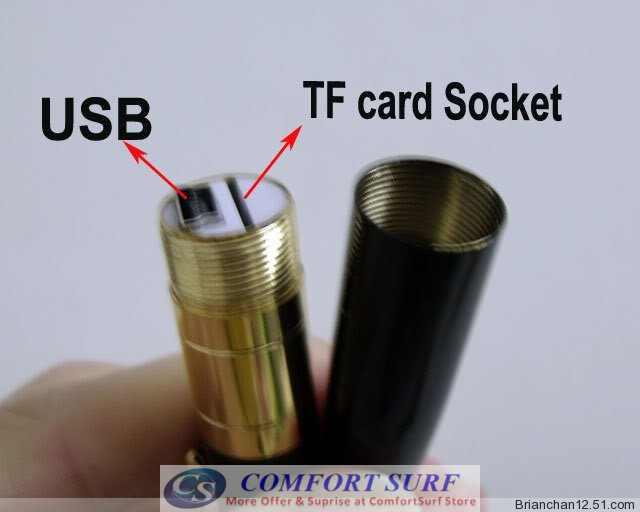 high definition camera pen instructions
