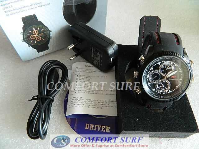 Spy Watch 4GB High Definition SPY Video Hidden Camera Watch
