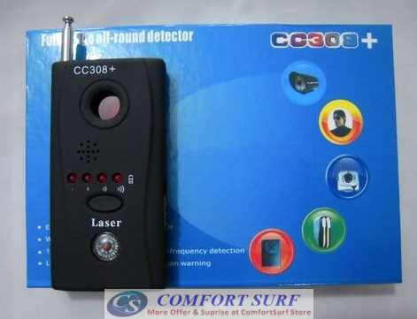 Full-Range All-Round Anti Spy Surveillance CC308 Little Angle Multi-Detector