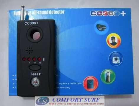 Full-Range All-Round Anti Spy Surveillance CC308 Little Angle Multi-Detector