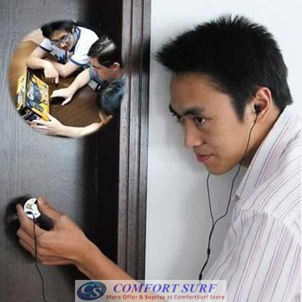 Mini Portable Ear Listen Spy Amplifier Wall Device