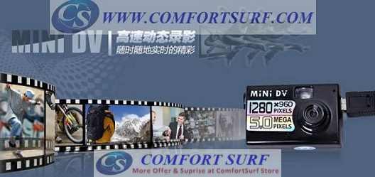 Mini Portable 5.0 MP HD 1280*960 Video Recorder Pinhole Camera