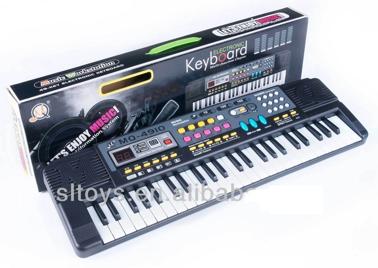 49 Keys Electronic Piano Keyboard Kids Educational Toys