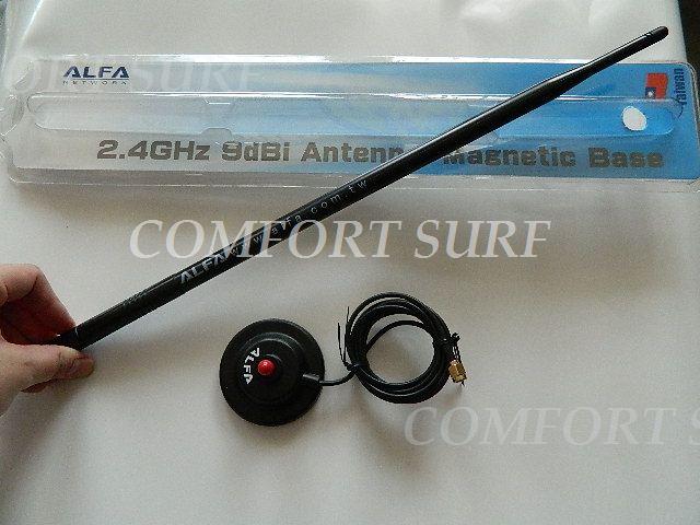 Alfa ARS-N19MBP 9.3dBi Magnectic antenna