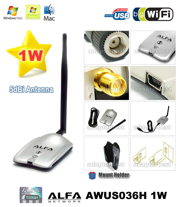 Alfa Wireless Usb Adapter Awus036h Driver Download For Windows 7