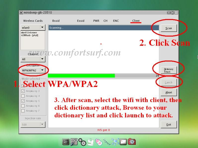 crack wpa using beini without dictionary webster