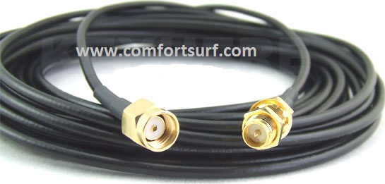 6M RP SMA Male to Female Extension Cable