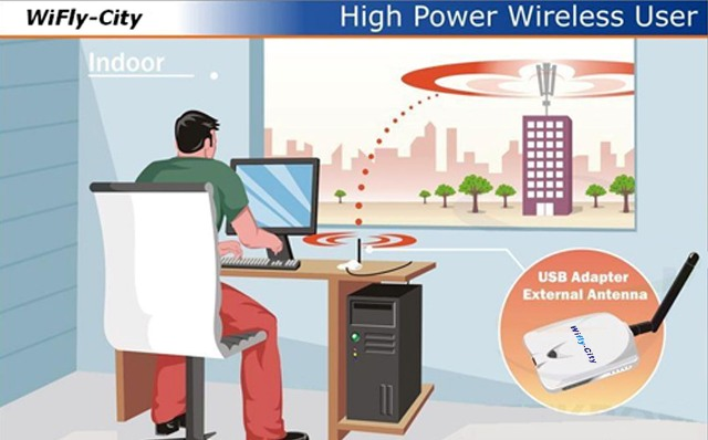 Wifly-City USB Wireless Adapter