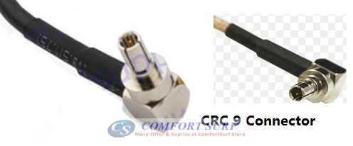 LTE Antenna CRC9 Connector For Most Huawei / ZTE / Sierra Wireless USB Modem / Mifi Router