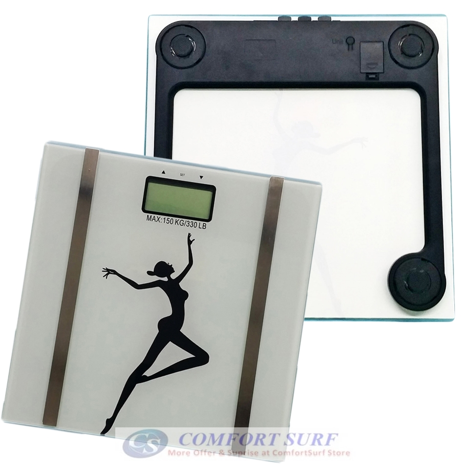 High Precision Ultra Slim Personal Health Digital Body Fat Analyzer Scale with 180kg !!