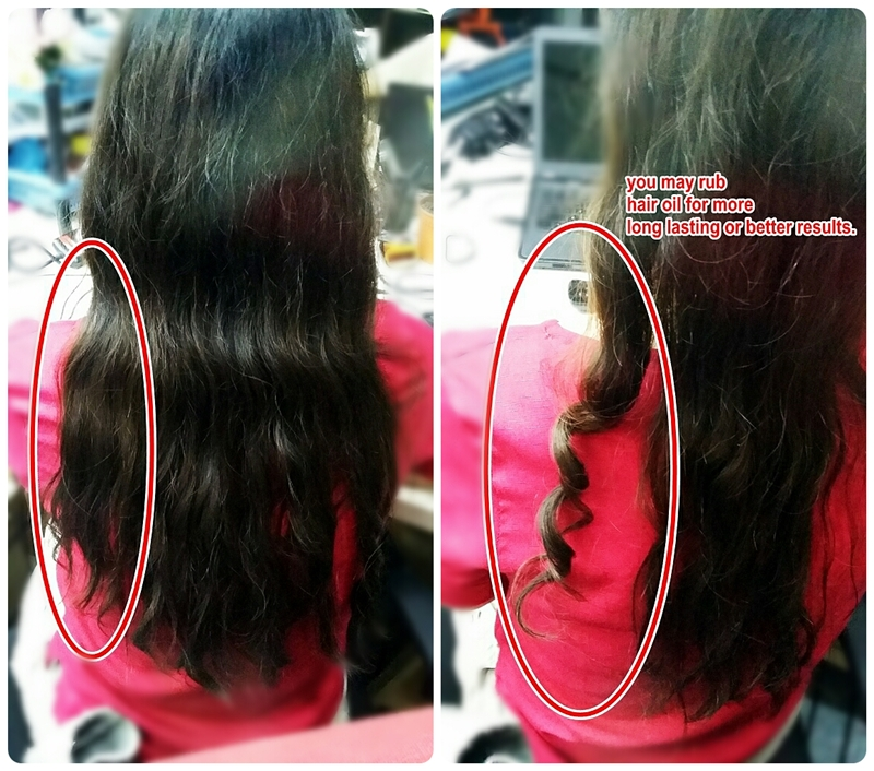 Hair Curl Iron Heat ZF-2002 With Professional instant