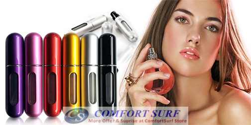 Mini Portable Refillable Perfume Atomizer Bottle Spray