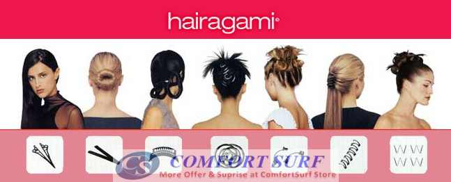 Hairgami - The Total Hair Makeover Kit