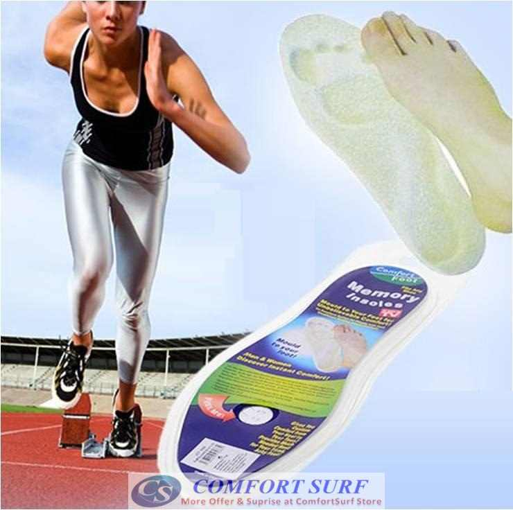 Comfort Foot Memory Foam Insoles