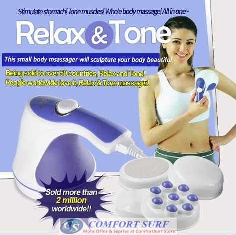 Relax & Spin Tone Whole Body Massager