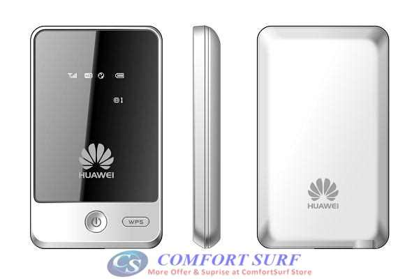 Huawei E583C HSDPA 7.2Mbps 3G Portable Pocket Mobile Broadband Wireless 802.11b/g Router