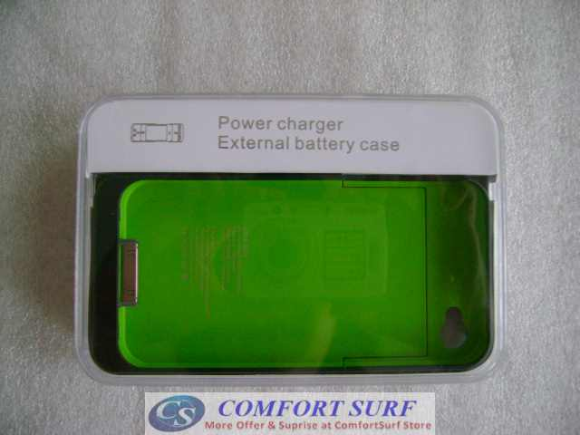 Ultra Slim External Battery Case for iPhone 4