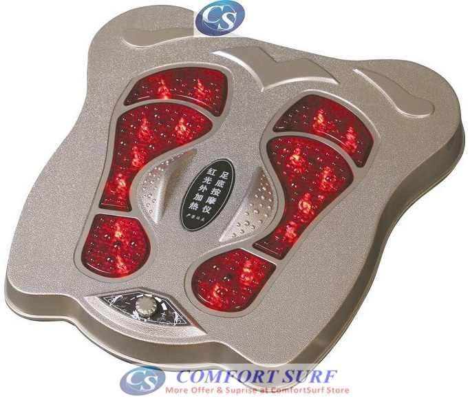 Red External Heating Foot Massage Instrument