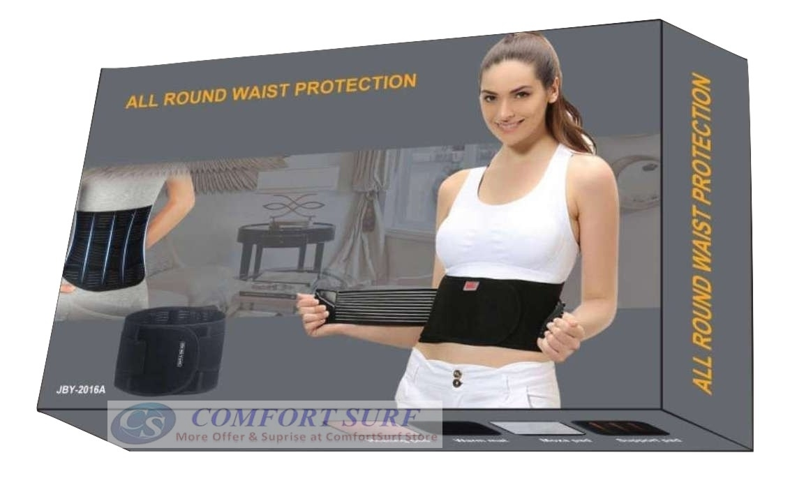 Waist Support with Metal Bars and Medical Back Waist Protection