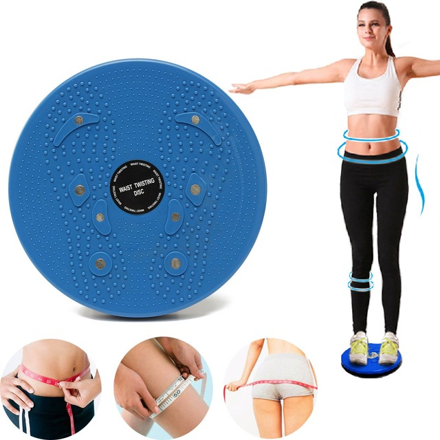 High Level Healthy Massage Waist Twisting Disc with Hand Balance Strap