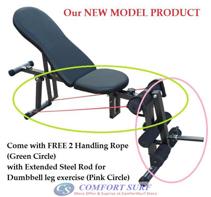 NEW Professional Multifunction ABS Six Pack Care Gym AB Fitness Sit Up Dumbbell Bench Chair