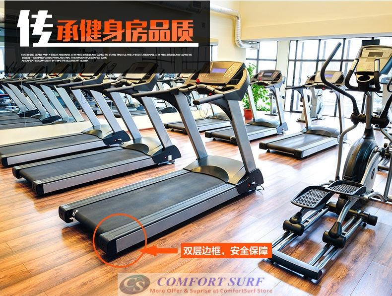 Chislim Luxury Single / Multi function Treadmill 3.0HP With Electric Incline Decline + 4 Way Spring Damping System