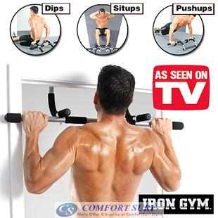 Iron Gym Upper Body Workout Bar Abs Push Ups SPORT Exercise / Fitness Equipment