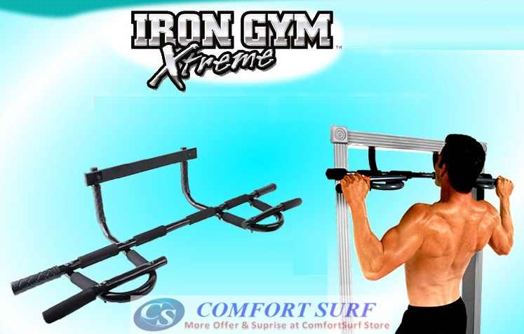Iron Gym Xtreme Upper Body Workout Bar Abs Push Ups SPORT Exercise / Fitness Equipment