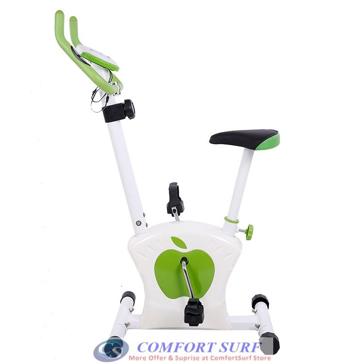 NEW Real Magnetic Control Exercise Bicycle Cycling Bike Gym / Fitness Equipment Vertical-Type Super Silence Home Office Indoor Sport Equipment