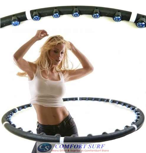ACU HOOP PRO! Massaging Slimming Hula Hoop Exercise & Fitness