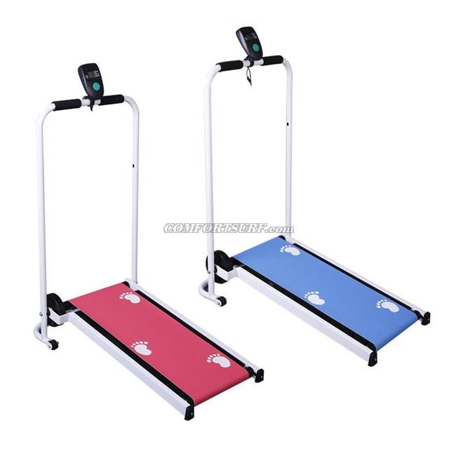 NEW Gym Fitness QMK-1032 Portable Mini Walking Manual Treadmill