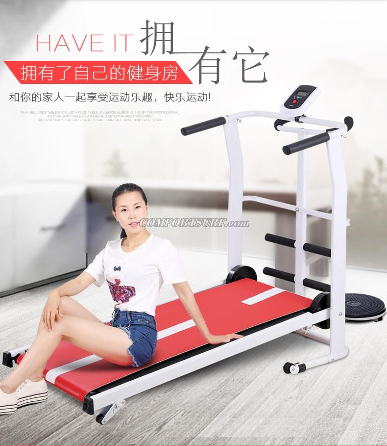 NEW QMK-MT208 Portable & Foldable Mini Treadmill Gym Walking Running Slimming Fitness Exercise
