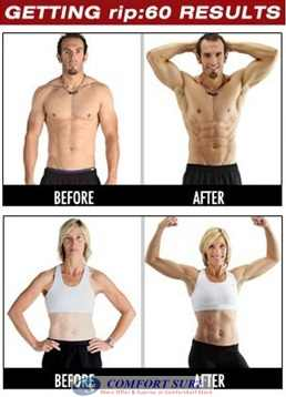 Rip 60 Fitness Training System Total-Body Transformation
