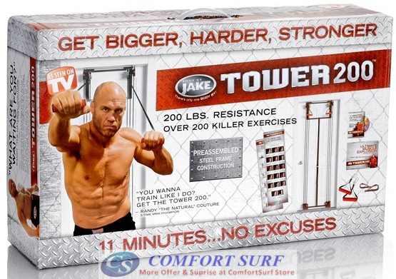 Tower 200 Full Body Builder Exercise Gym
