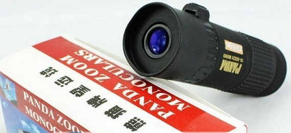 Pocket Portable High-Zoom 15-55x21 Panda Monoculars Telescope