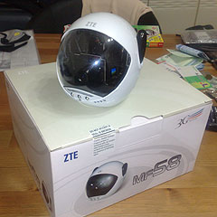 ZTE MF58 3G Wireless Mobile Eyes Realtime Remote Monitoring CCTV Surveillance Camera Security System